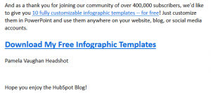 Subscription Magnet Example: Free Templates
