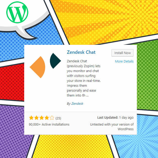 plugins wordpress - Zendesk chat